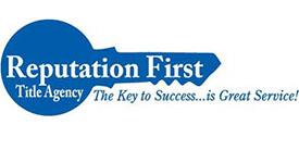 Reputation First Logo